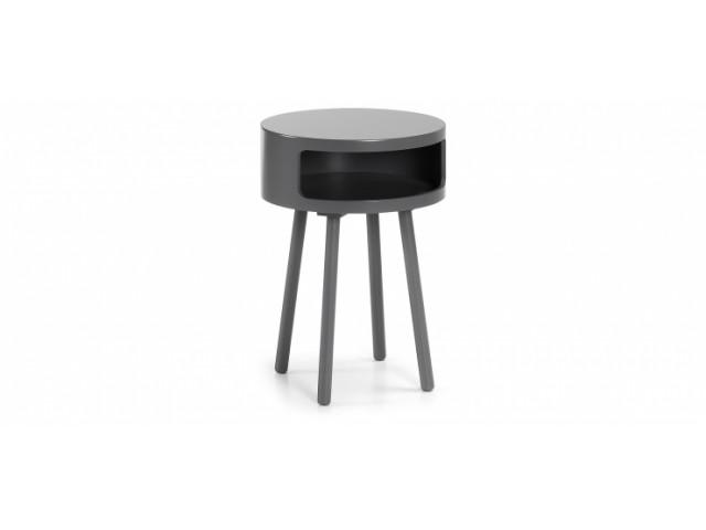 Кофейный стол La Forma BRUK C596M03 Темно-серый