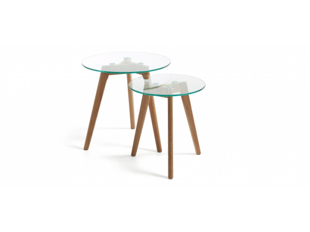 Кофейный стол La Forma BRICK C603C07 Прозрачный