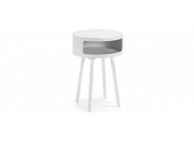 Кофейный стол La Forma BRUK C596M05 Белый