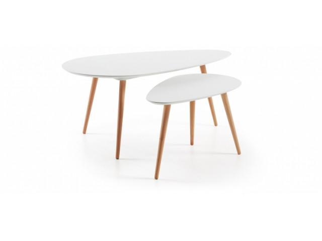 Кофейный стол La Forma BRICK C650M05 Белый