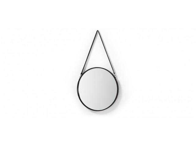 Зеркало La Forma EERTRIN EA278C37 50 см Черный