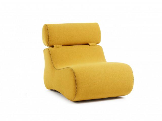 Кресло La Forma CLUB S442VA81 Жёлтый