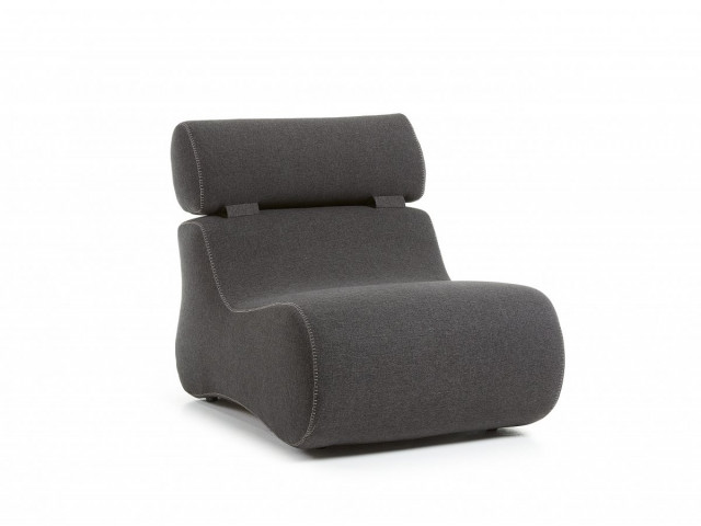Кресло La Forma CLUB S442VA02 Черный