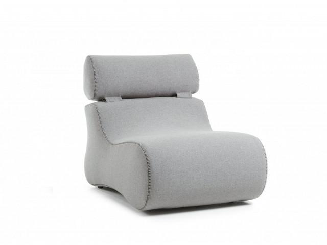 Кресло La Forma CLUB S442VA03 Серый