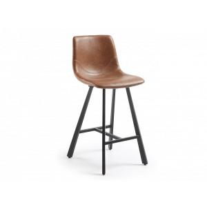 Полубарный стул La Forma TRAC CC0312UE86 Коричневый
