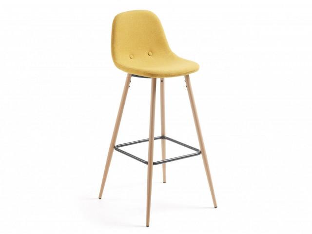 Барный стул La Forma NILSON CC0276J81 Горчичный