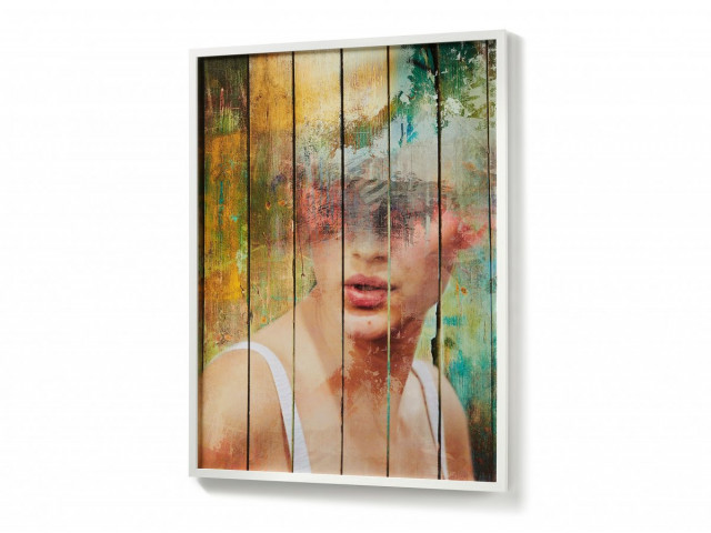 Картина La Forma ARIELLA AA1025M05 Разноцветный 78х103 см
