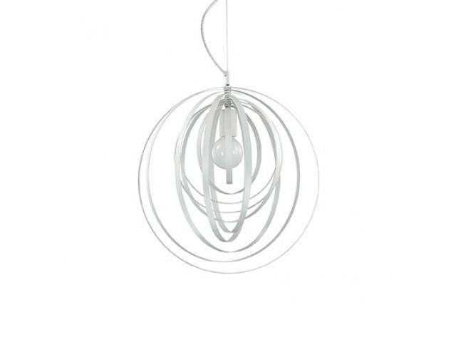Лампа подвесная Ideal Lux Disco SP1 Bianco 103723