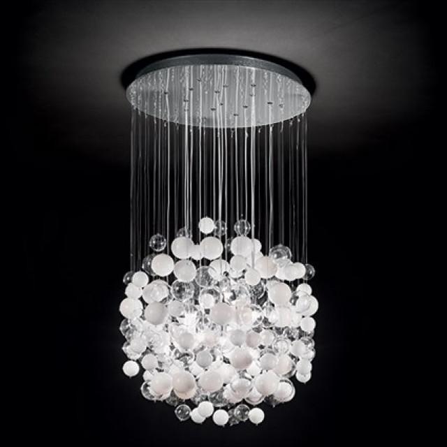 Лампа подвесная Ideal Lux Bollicine SP14 087924