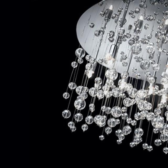 Лампа подвесная Ideal Lux Neve PL15 Bianco 101194