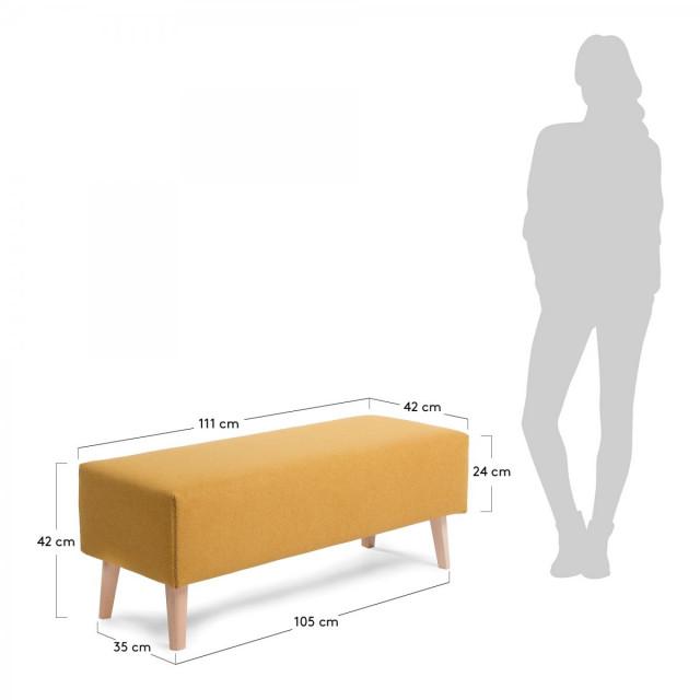 Банкетка La Forma LYDIA CC0467VA81 Желтый