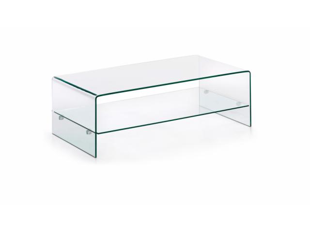 Кофейный стол La Forma BURANO C536C07 Прозрачный