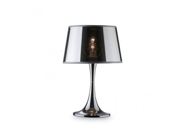 Лампа настольная  LONDON CROMO TL1 BIG, Ø 32 см 032375
