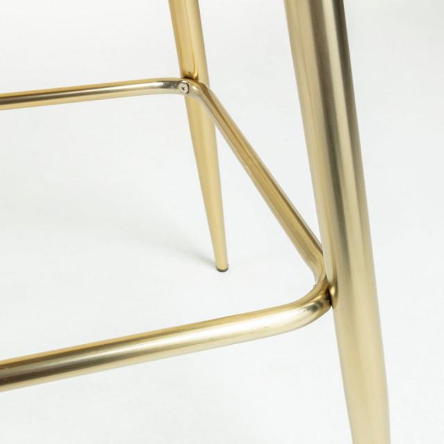 Барный стул La Forma NILSON, ткань велюровая CC1020J25