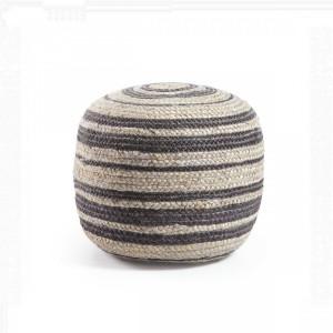 Пуф La Forma SAMY AA1090FN01 Чёрно-серый