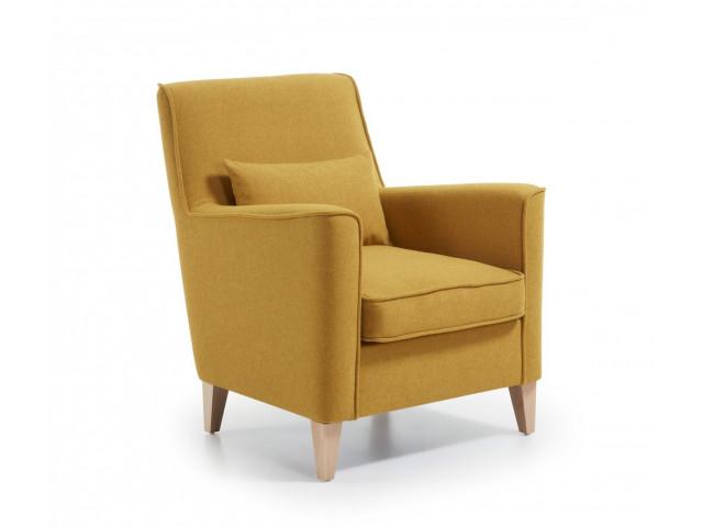Кресло La Forma FYNA S418VA81 Жёлтый