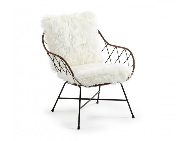 Кресло La Forma CLAQUE CC0074J05 Белый