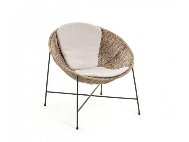 Кресло La Forma KATHRYN Бежевый CC0815FN46