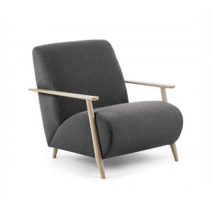 Кресло La Forma MARTHAN S516VA02 Темно-серый