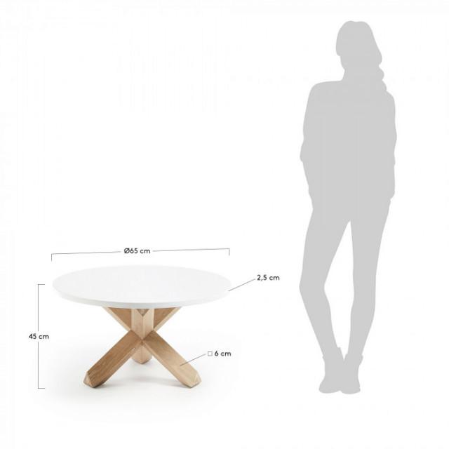 Кофейный стол La Forma NORI CC0741L05 Белый