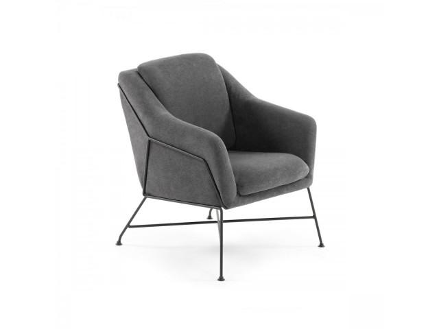 Кресло La Forma BRIDA CC0948J02 Темно-серый