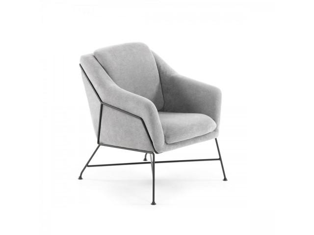 Кресло La Forma BRIDA CC0948J03 Светло-серый