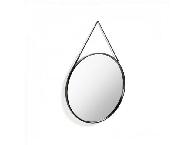 Зеркало La Forma EERTRIN Ø 80 см AA4279C37 Чёрный