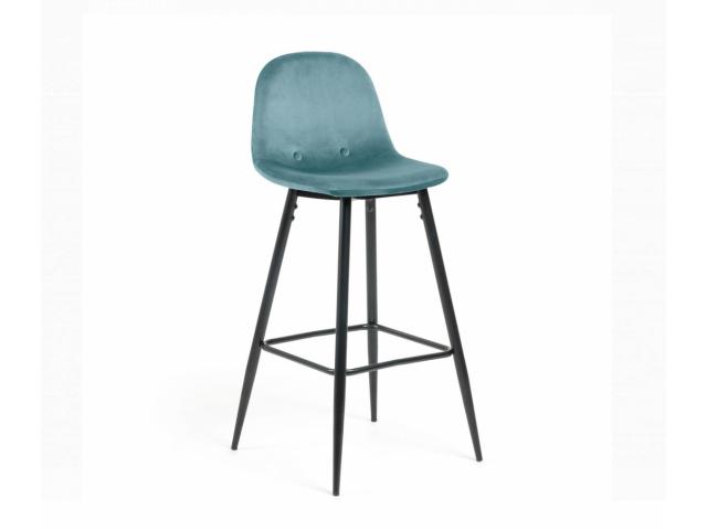 Барный стул La Forma NILSON, ткань велюровая CC1019J20