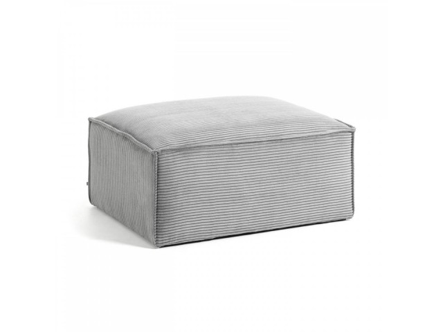 Пуф La Forma Blok S576LN15 Светло-серый