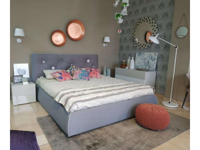 Кровать B.forms Gerard 100 Серый