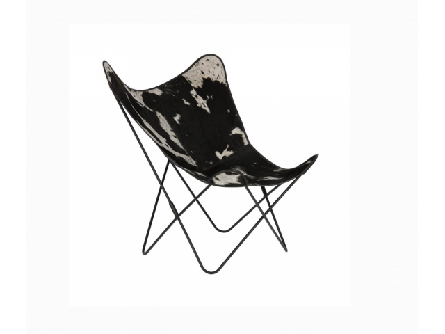 Кресло La Forma FLYNN CC0352P60_ Черно-белый