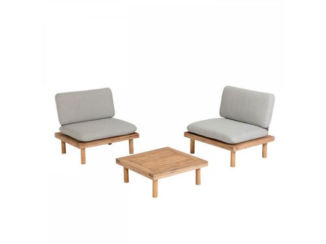 Журнальный столик и 2 кресла  La Forma Viridis S638M46