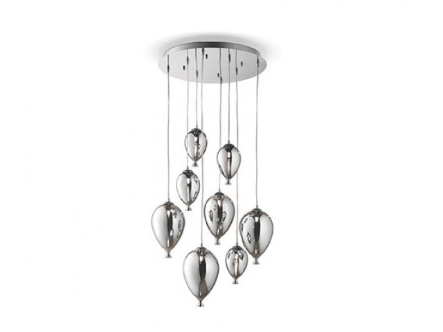 Лампа подвесная Ideal Lux Clown SP8 Cromo 100913