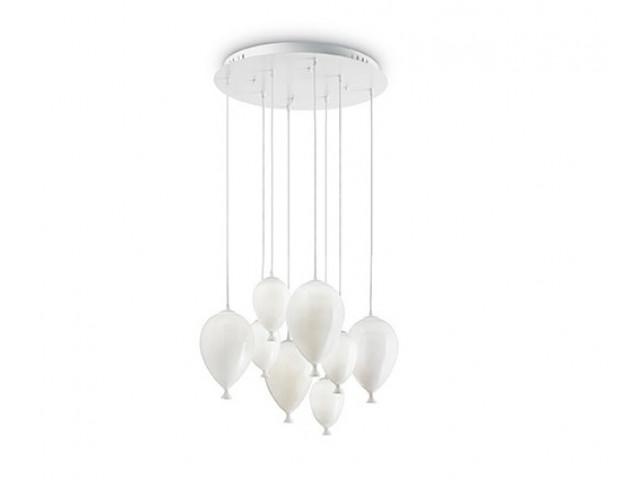 Лампа подвесная Ideal Lux Clown SP8 Bianco 100883