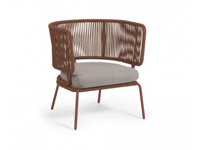 Кресло La Forma Nadin S736J86 Коричневый