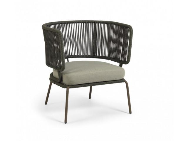 Кресло La Forma Nadin S736J19 Зелёный
