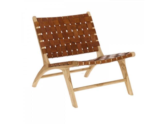 Кресло La Forma Calixta CC1947P10 Коричневый
