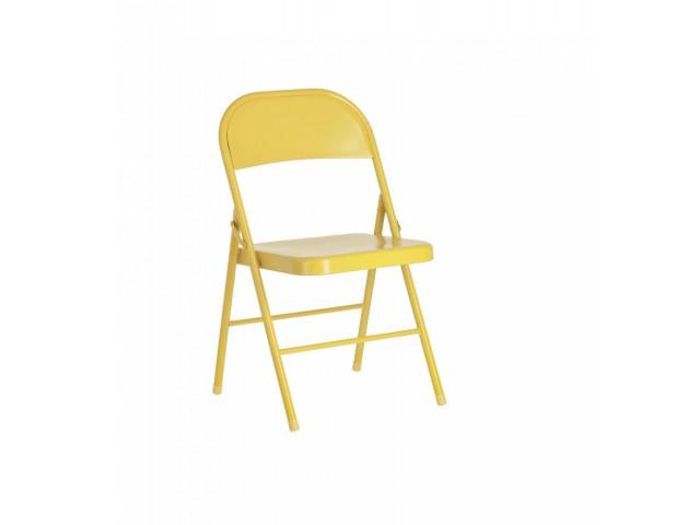 Металлический раскладной стул  La Forma Aidana CC2093R81