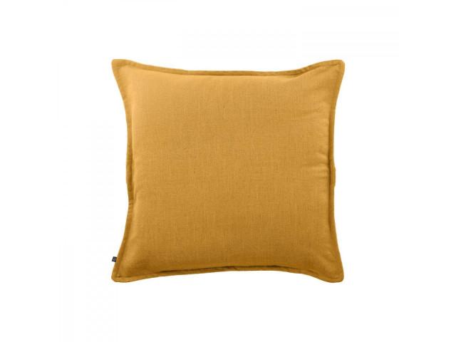 Наволочка Blok из льна желтого цвета, 60 x 60 см La Forma CV0001SN81