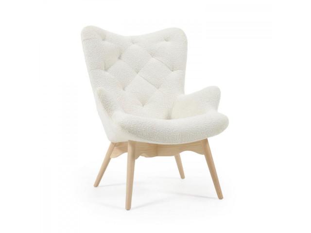 Кресло KNUT La Forma Белый CC0235J33