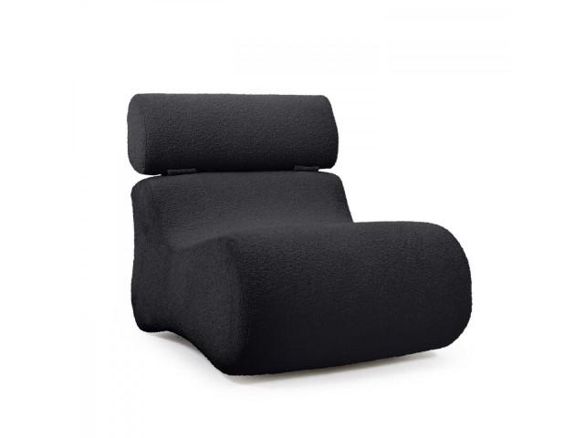 Кресло CLUB La Forma S442J01 Чёрный